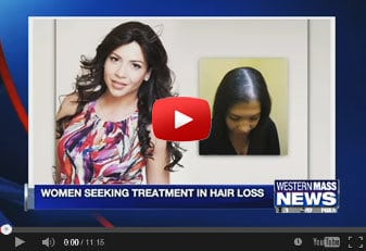 Womens hair replacement Connecticut WGGB TV News