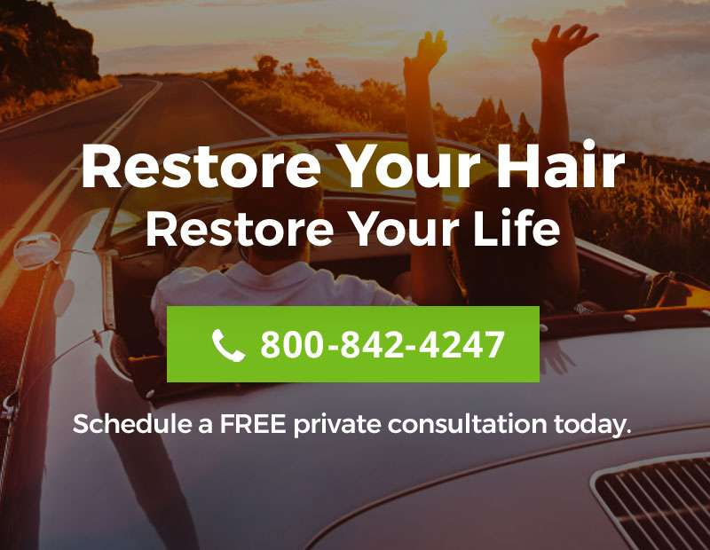 Hair loss replacement restoration specialist Connecticut CT