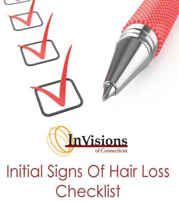 Initial Signs Of Hair Loss