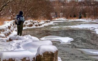 winter fishing trip